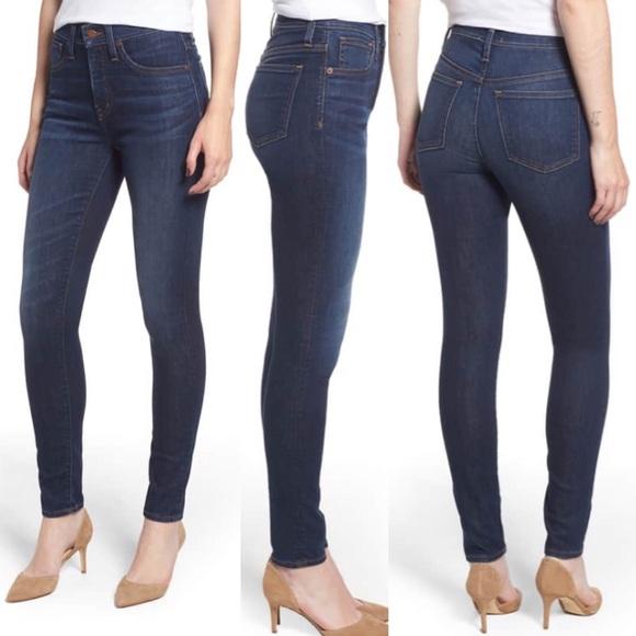 Caslon Denim - Caslon Nordstrom dark blue skinny jeans 32